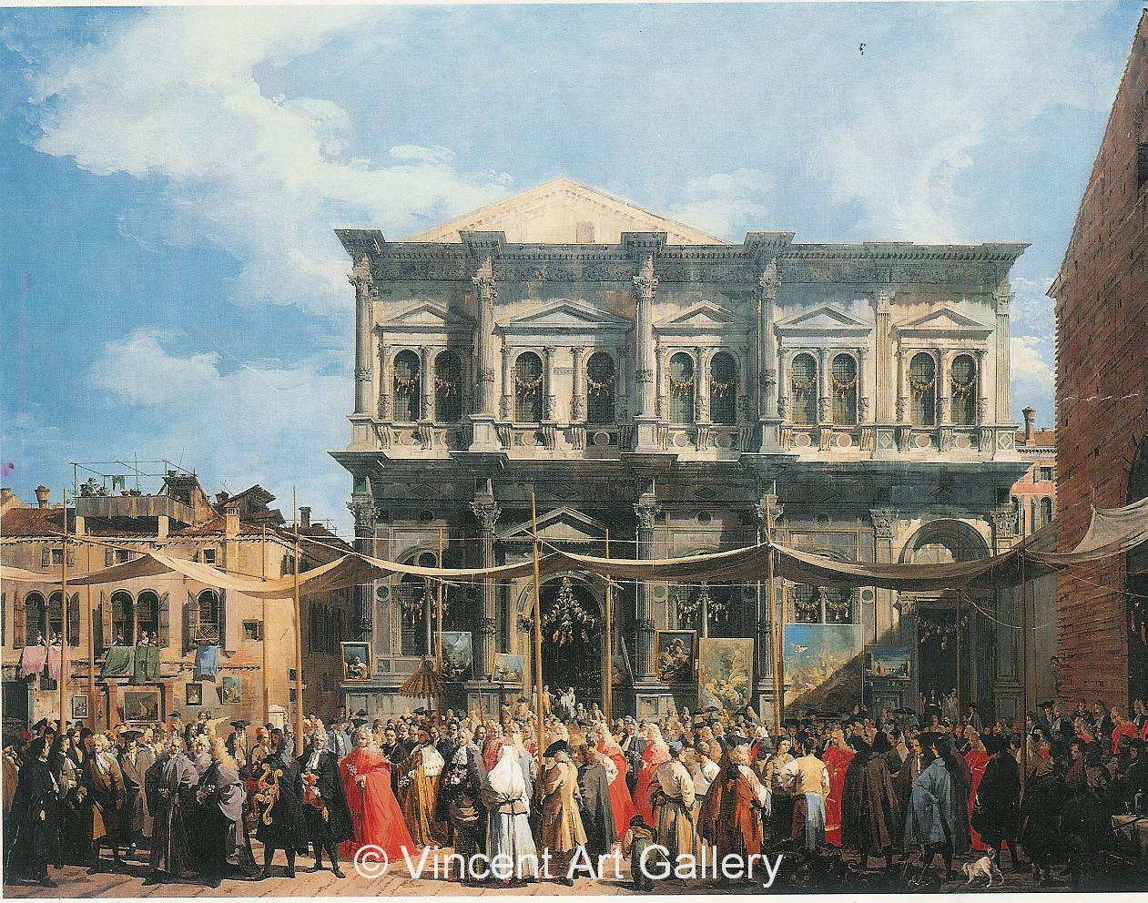 A1018, CANALETTO, Feast of San Rocco