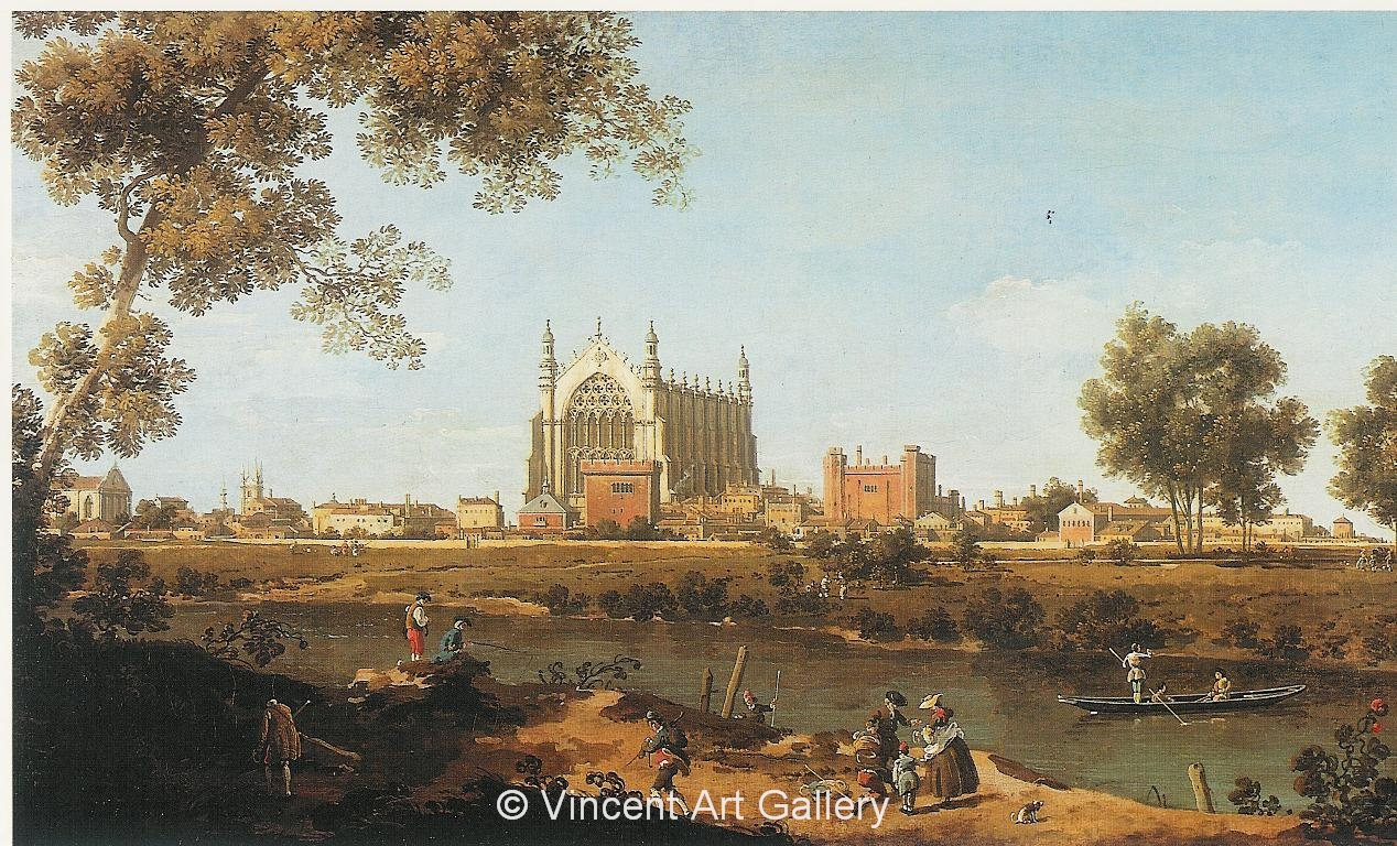 A1040, CANALETTO, The Chapel of Eton College