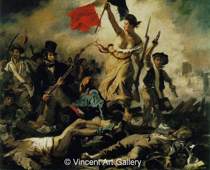 A115, DELACROIX, Liberty Leading the People
