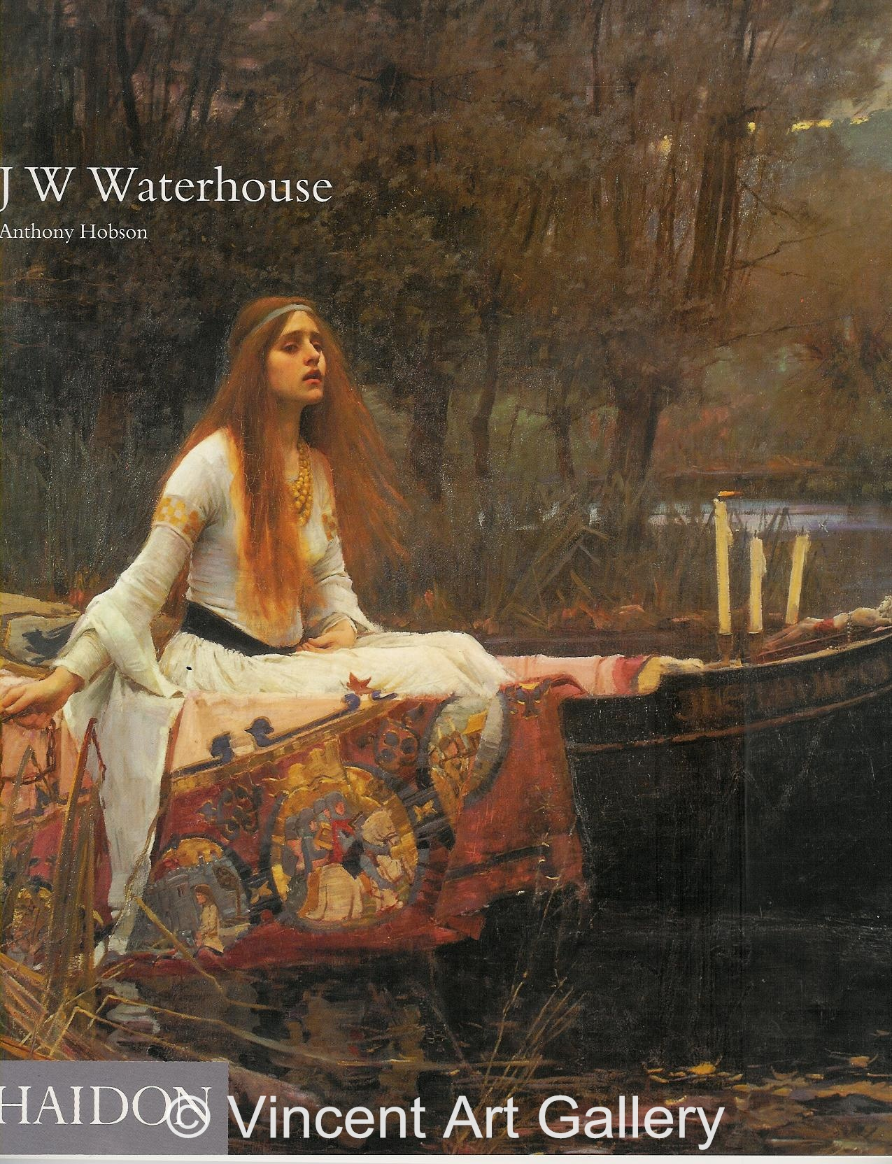 A1184, WATERHOUSE, The Lady of Shalot, use these colors