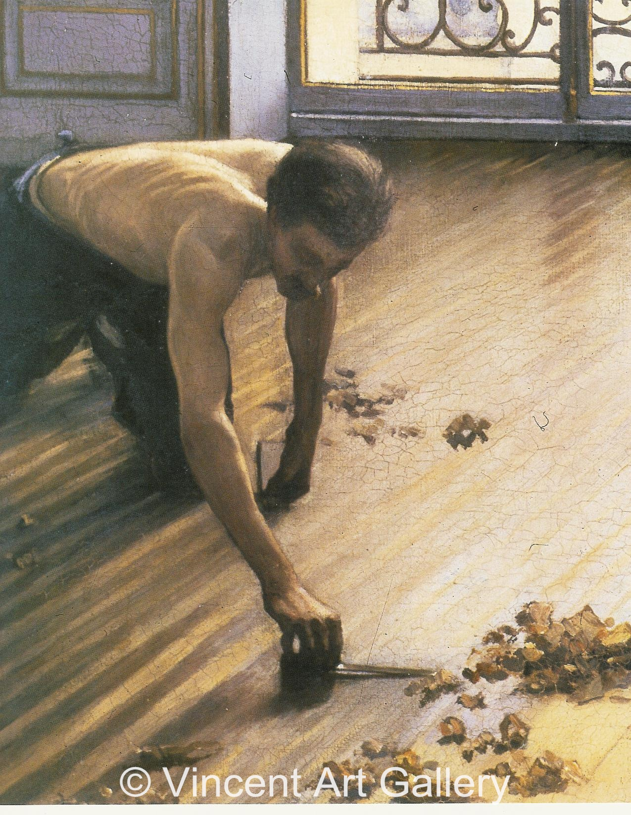 The Floor-Scrapers by Gustave Caillebotte - Oil Painting ...