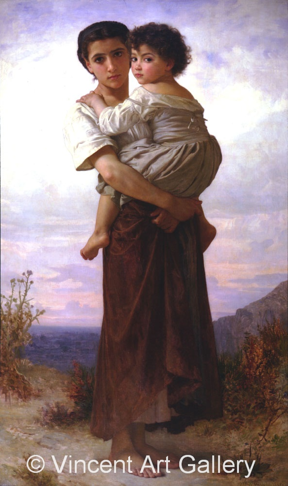 A1508, BOUGUEREAU, The Gypsies
