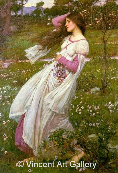 A1530, WATERHOUSE, Windflowers 1