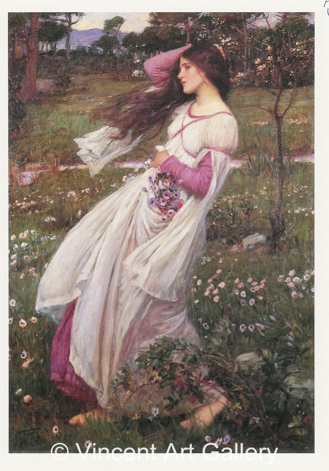 A1530, WATERHOUSE, Windflowers