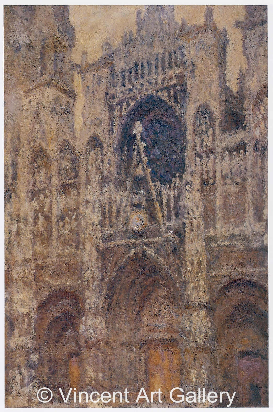 A175 (b) MONET, Cathedral, full Sunlight