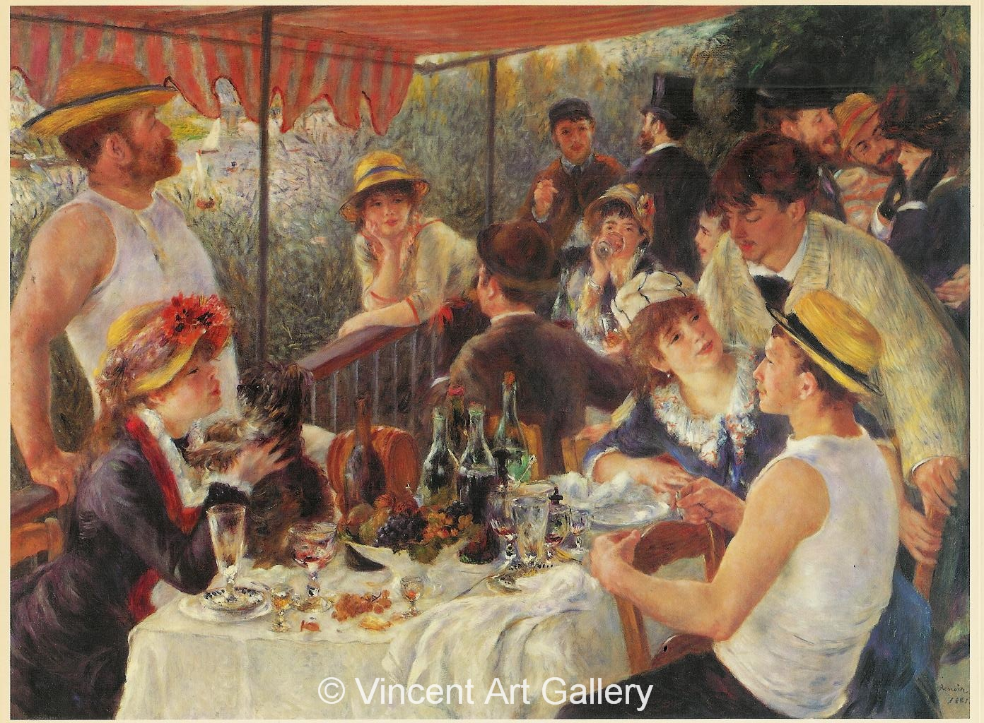 A199, RENOIR, The Canoeists' Luncheon