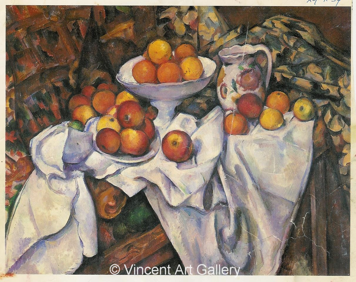 A259, CEZANNE, Apples and Oranges