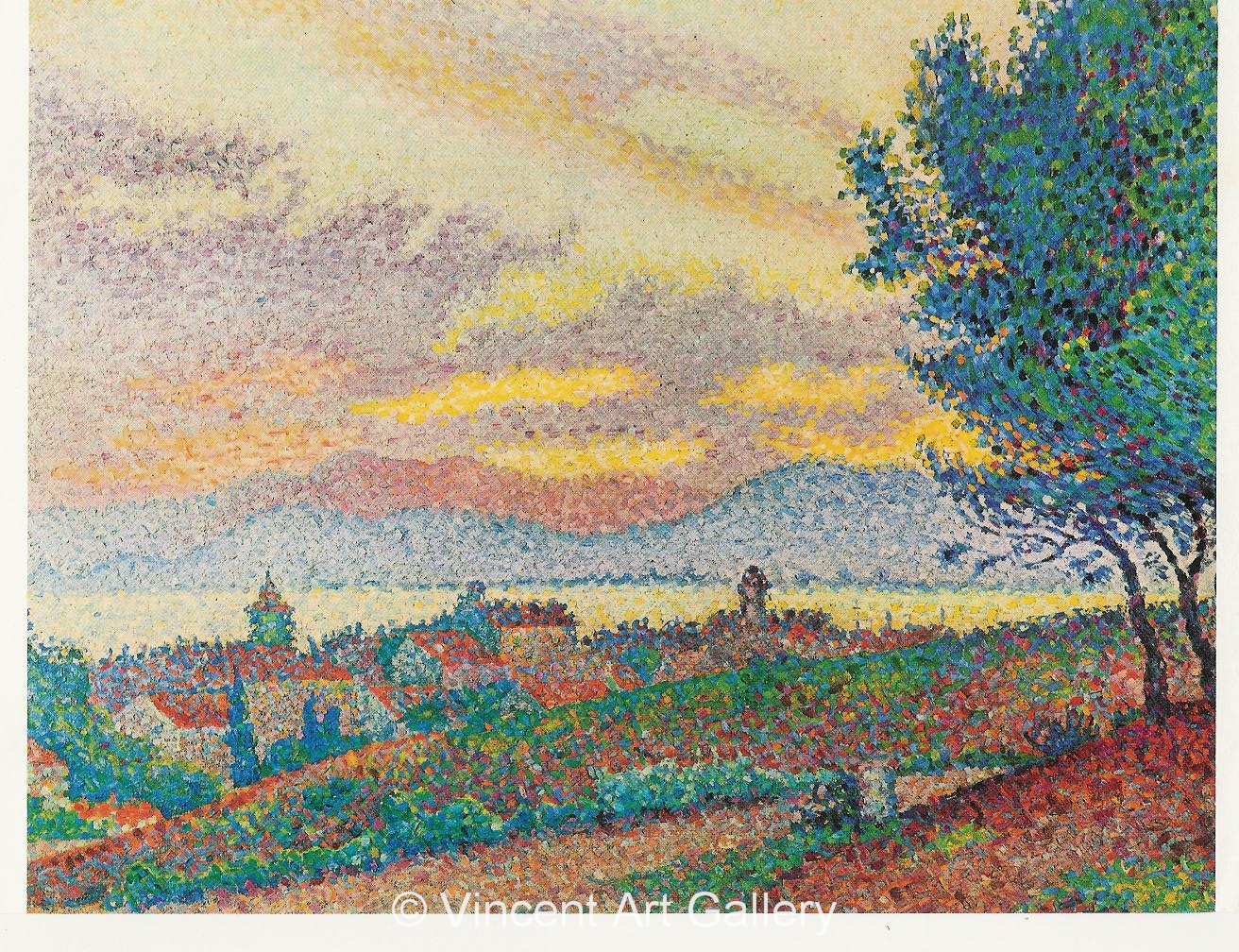 A273, SIGNAC, View on St. Tropez 001