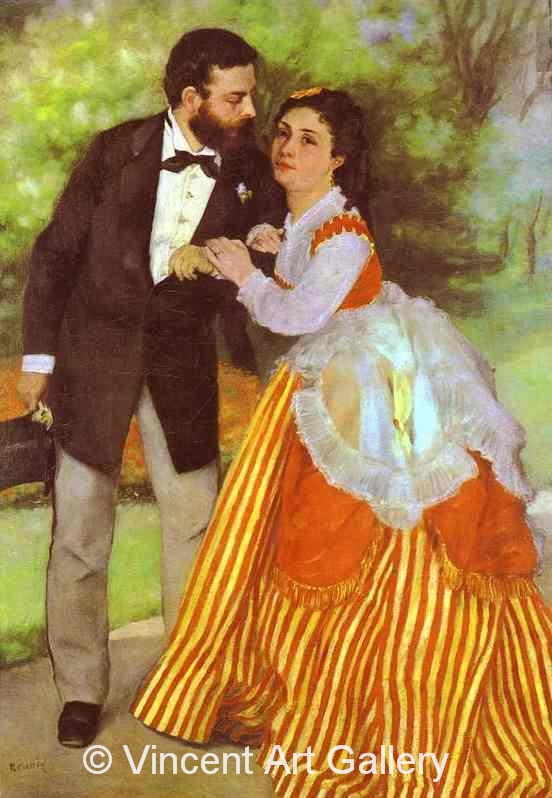 A3002, RENOIR, Alfred Sisley and His Wife