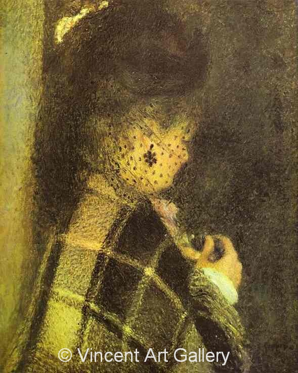 A3036, RENOIR, Young Woman with a Veil