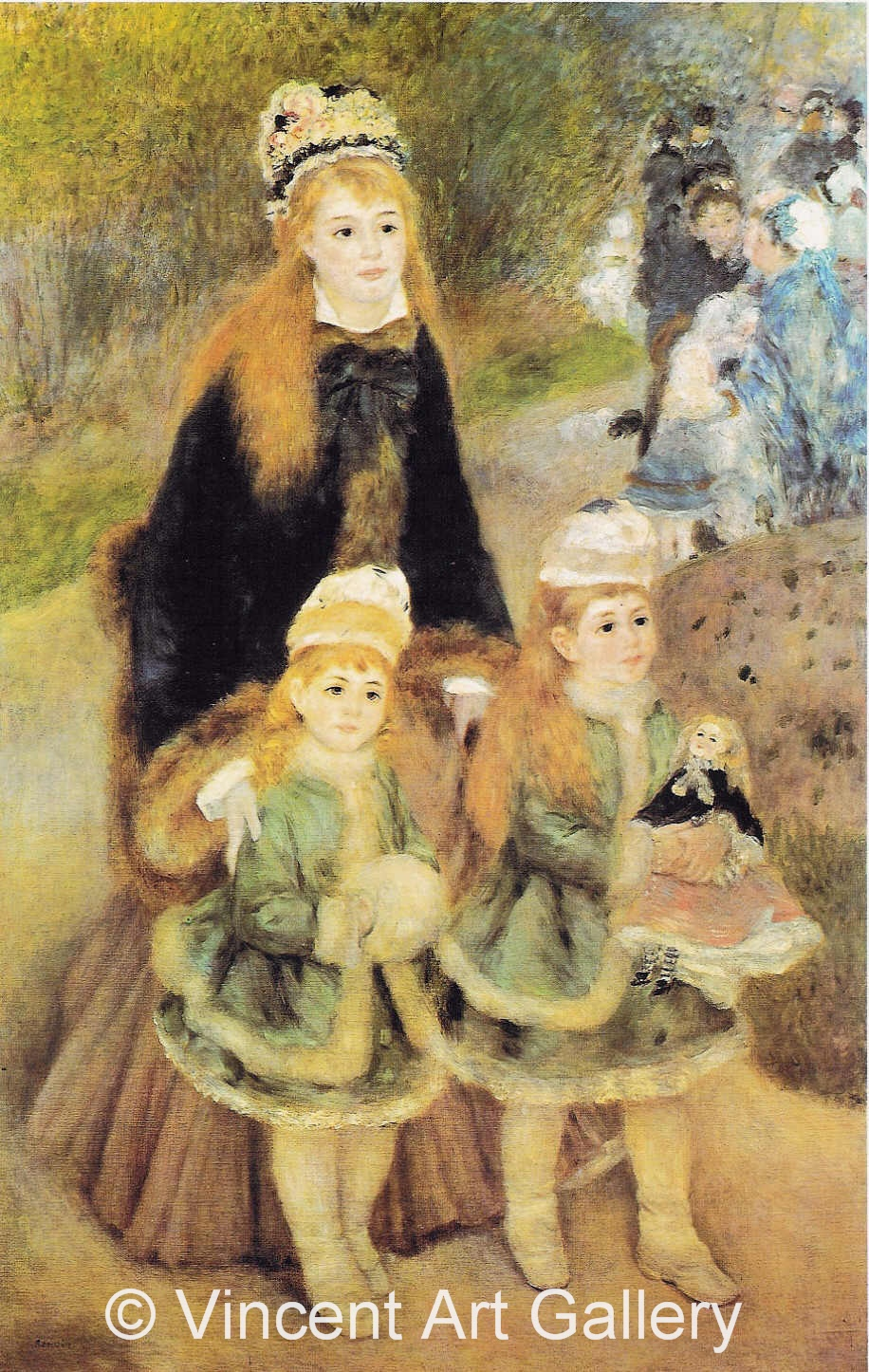 A3037, RENOIR, Mother and Children
