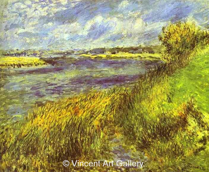 A3042, RENOIR, The Seine at Champrosay
