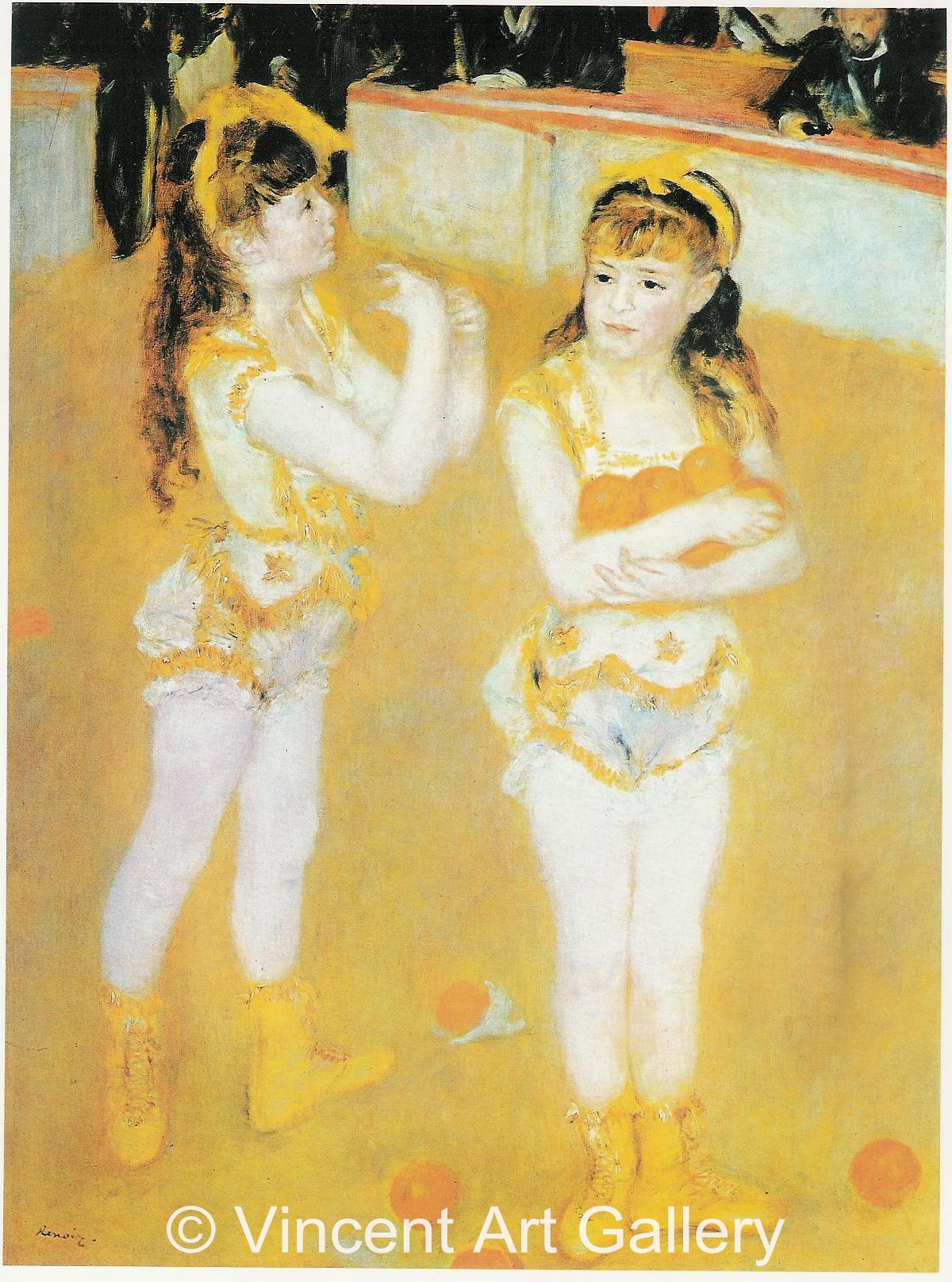 A3060, RENOIR, Two Little Circus Girls 001