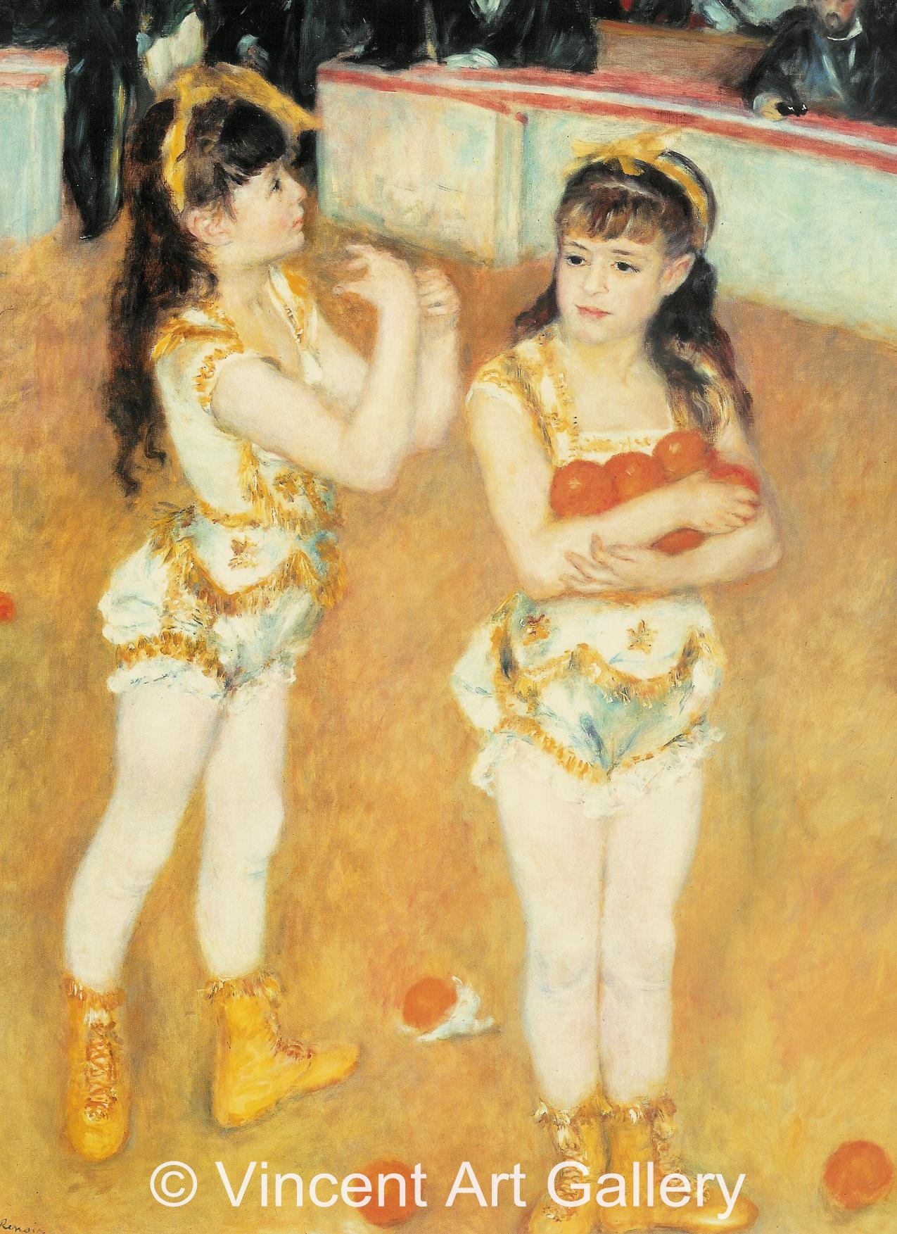 A3060, RENOIR, Two Little Circus Girls 002