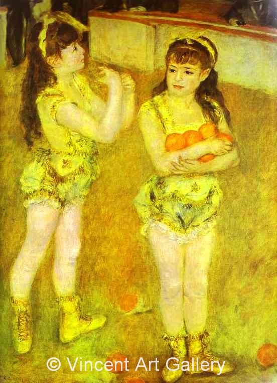 A3060, RENOIR, Two Little Circus Girls