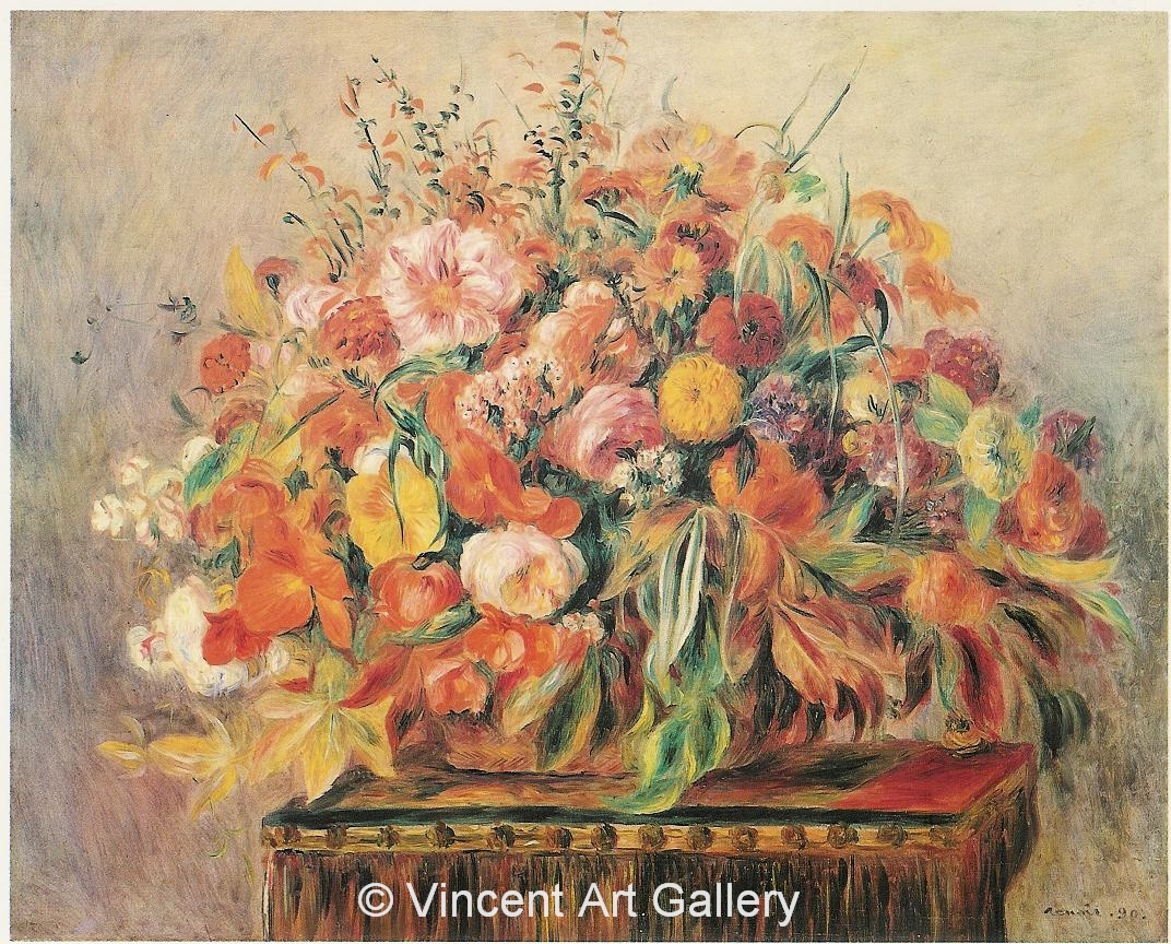 A321, RENOIR, Still Life with Flowers