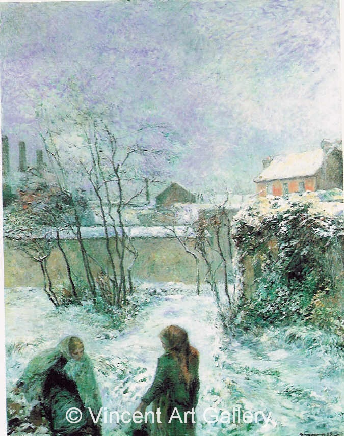 A3574, GAUGUIN, Snow Effect, 1883