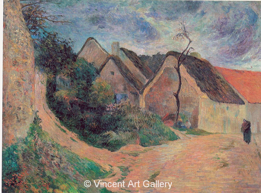 A3576, GAUGUIN, Ascending Pathway, Osny