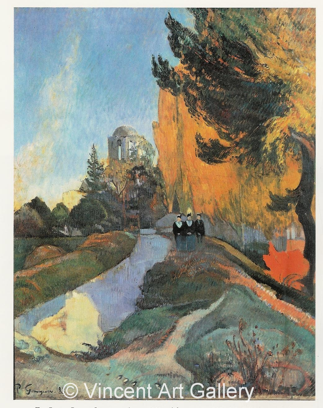 A483 - A3613, GAUGUIN, The Alyscamps