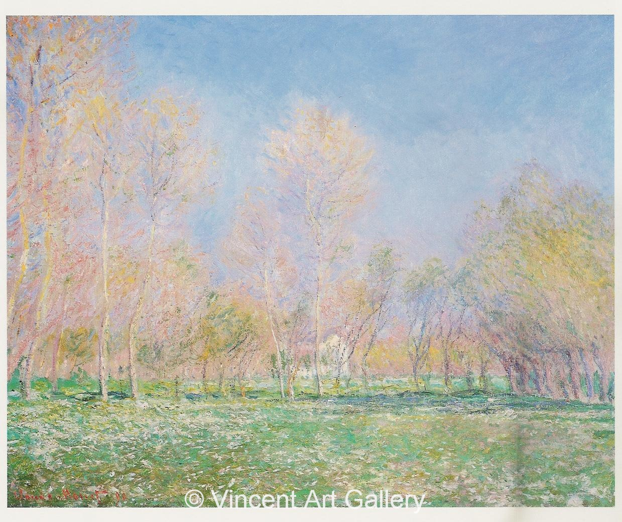 A550. MONET, Spring in Giverny 001