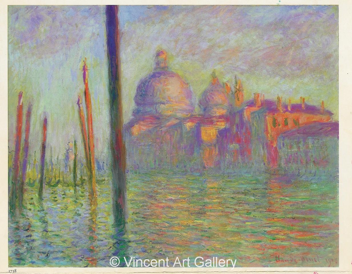 A570, MONET, The Grand Canal, Venice