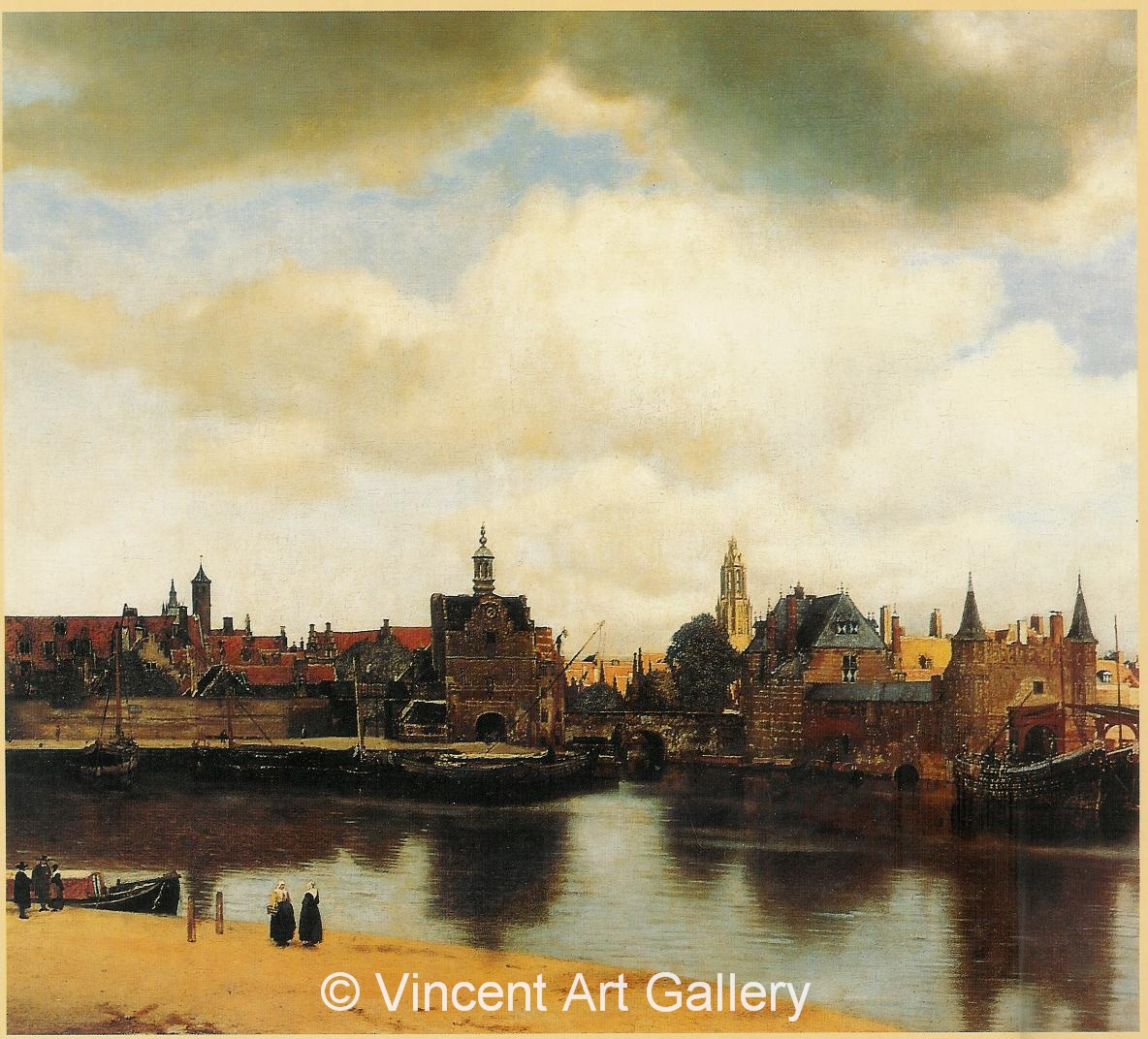 A635, VERMEER, View of Delft 001