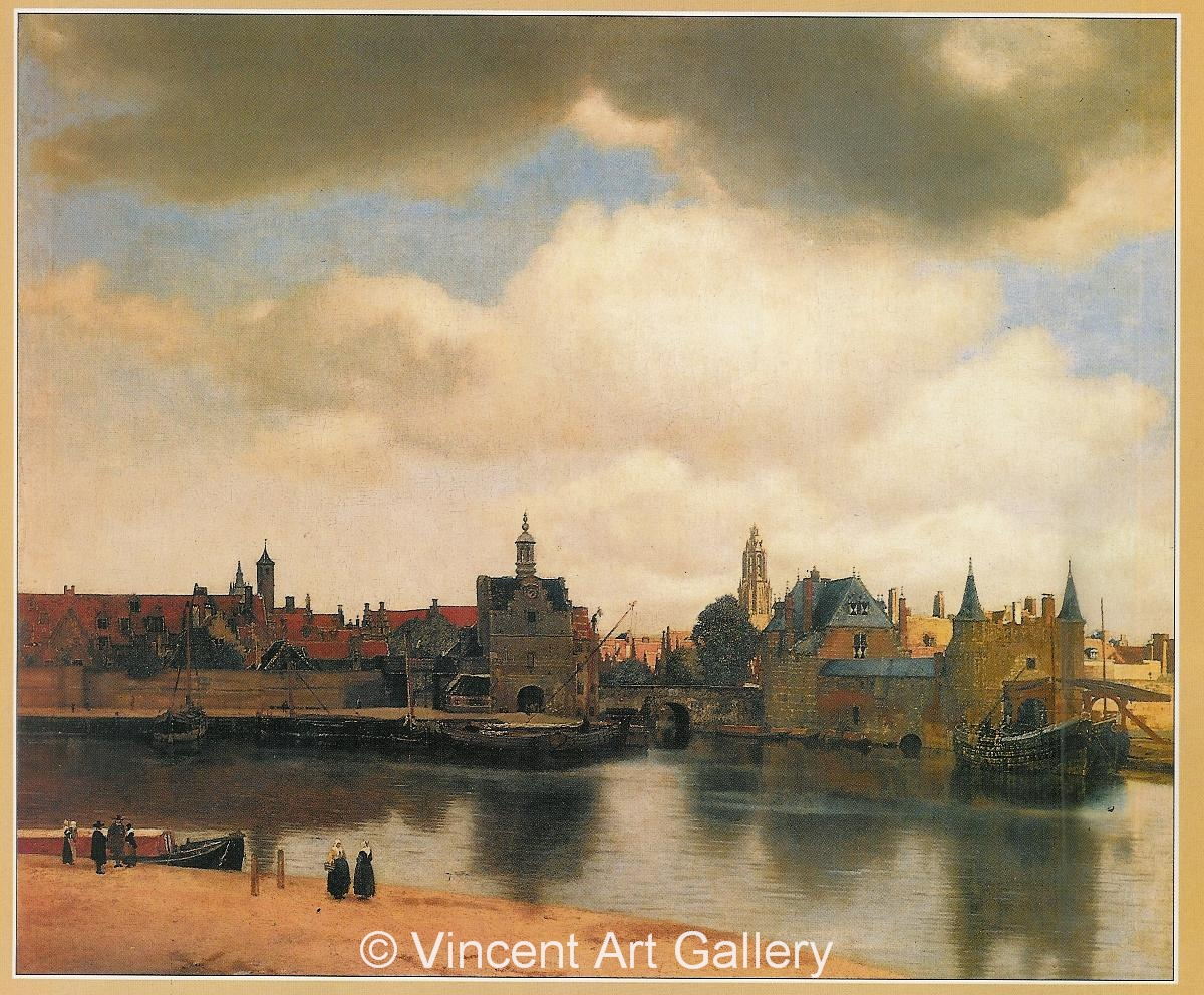 A635, VERMEER, View of Delft