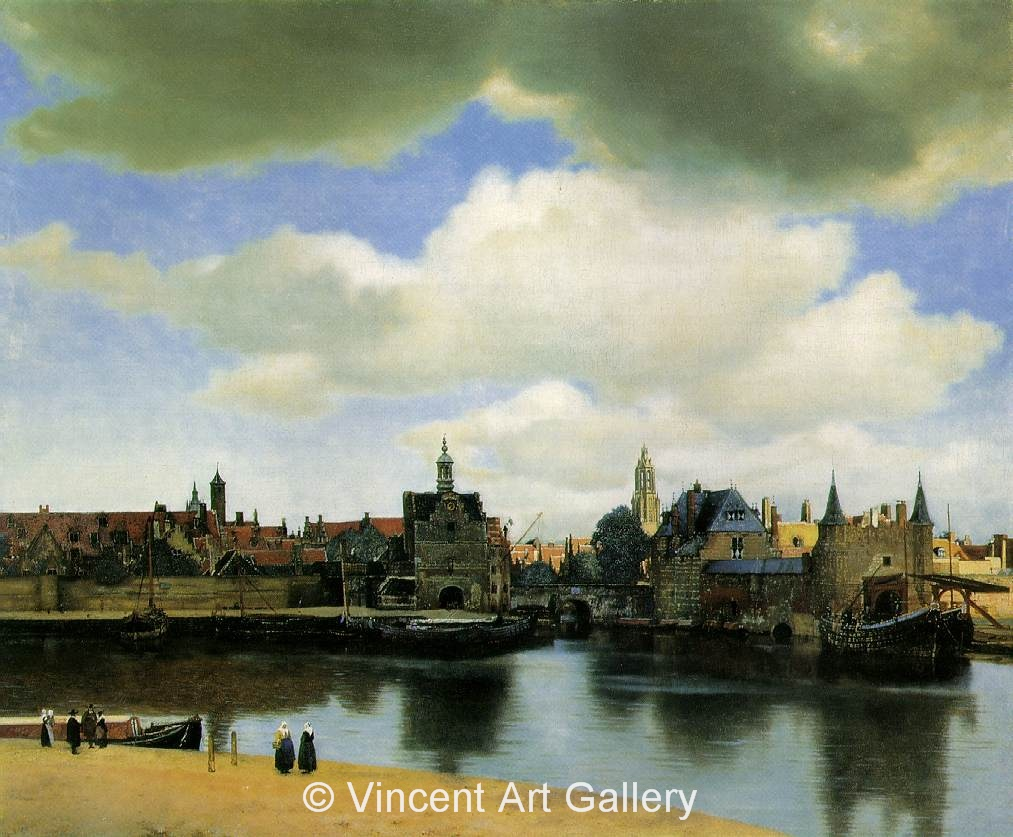 A635, VERMEER,View of Delft