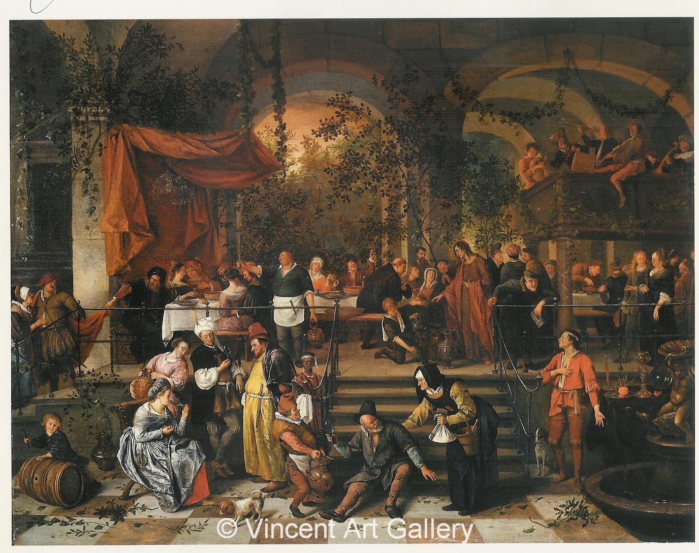 the wedding feast painting