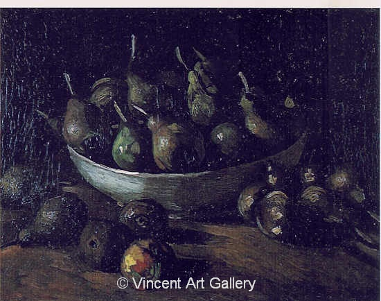 JH 926 - Still Life with an Earthen Bowl and Pears