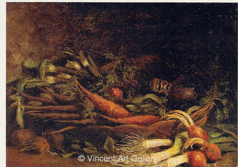 JH 929 - Still Life with a Basket of Vegetables
