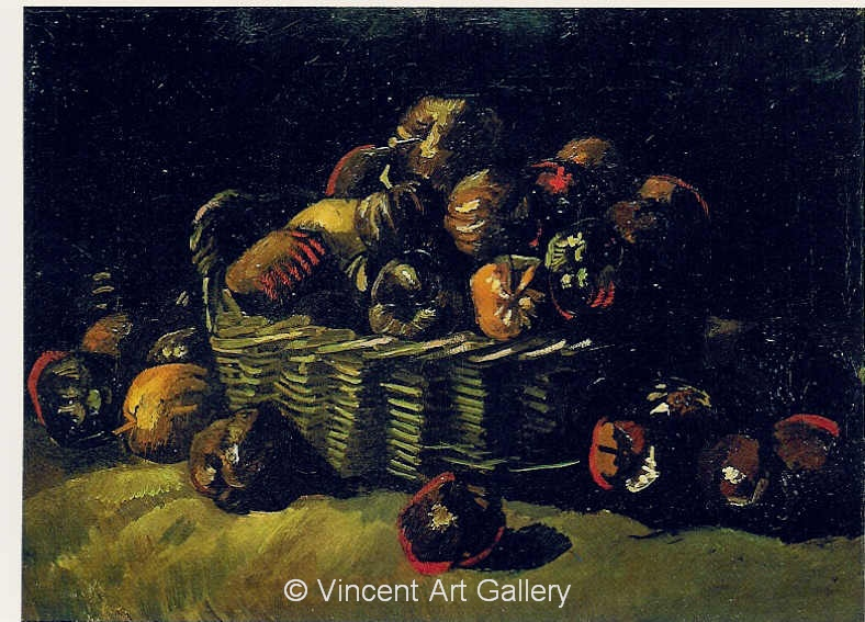 JH 930  - Still Life with Basket of Apples