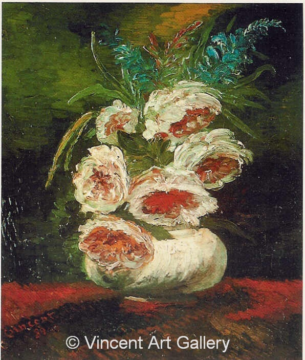 JH1107, Vase with Peonies