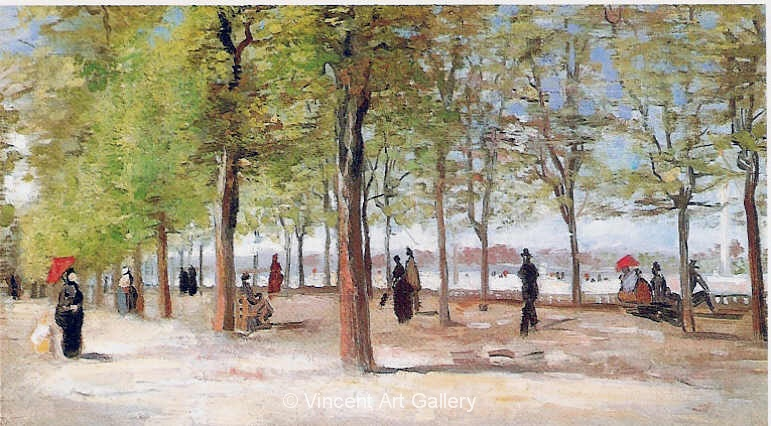 JH1111, Lane at the Jardin du Luxembourg