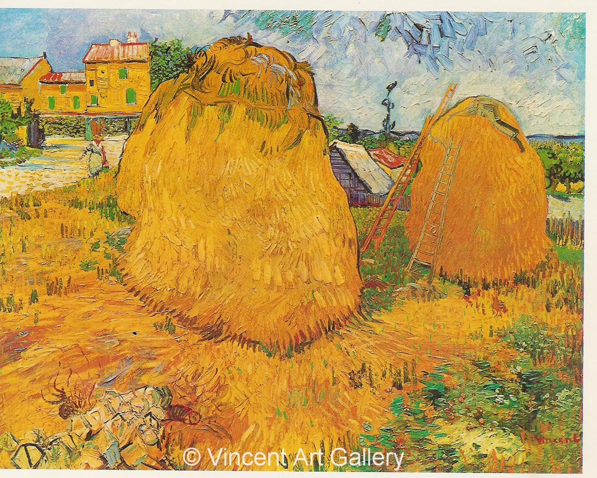 JH1442, Haystacks in Provence