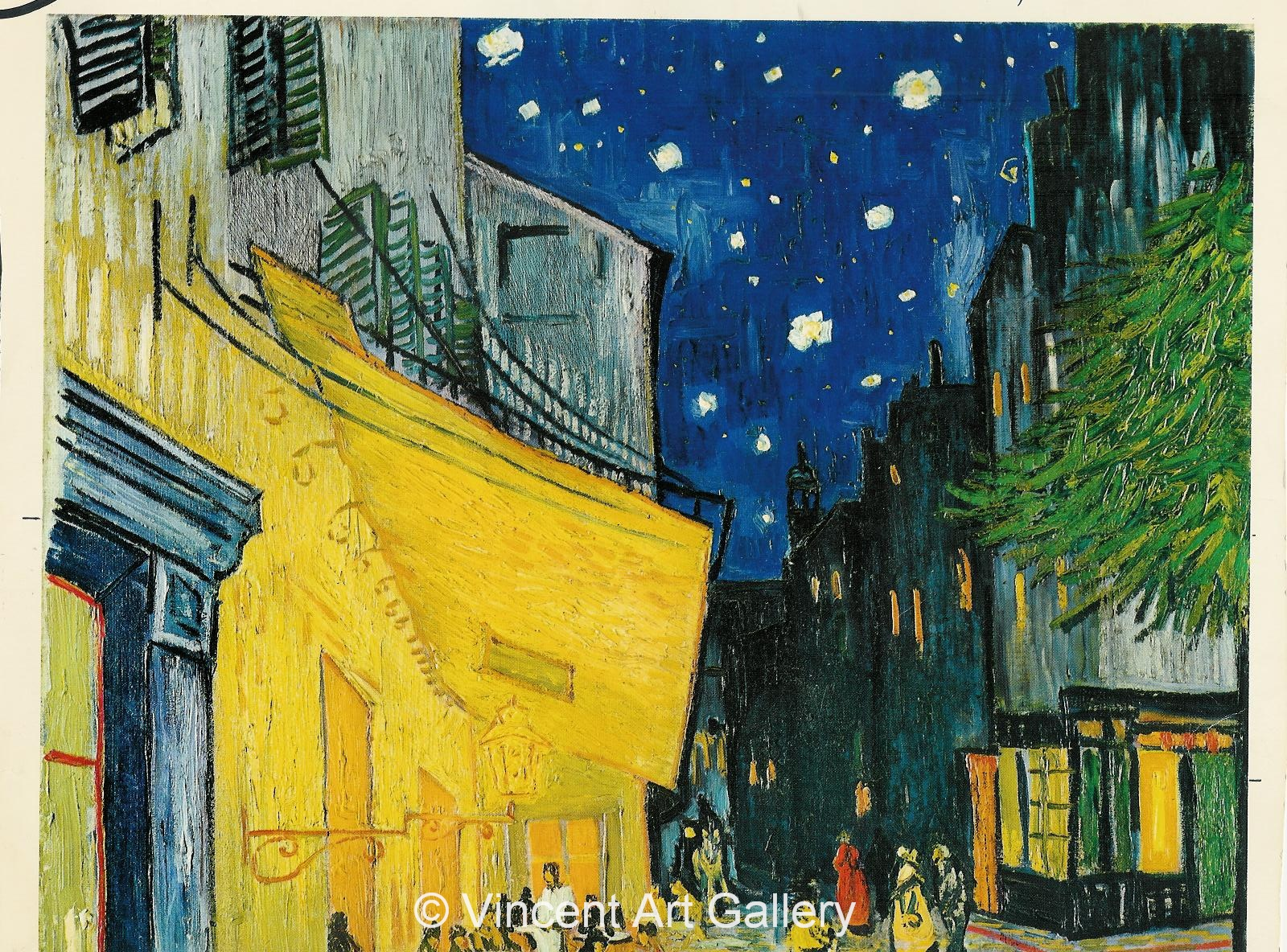 Vincent Van Gogh Cafe Terrace at Night Vincent Van Gogh Cafe Terrace