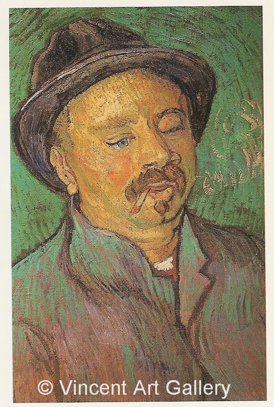 JH1650, Portrait of a One-Eyed Man