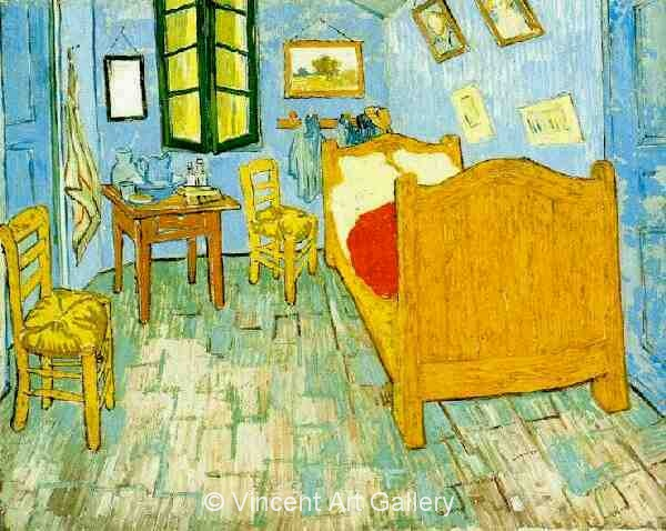 JH1771, Vincent's Bedroom in Arles