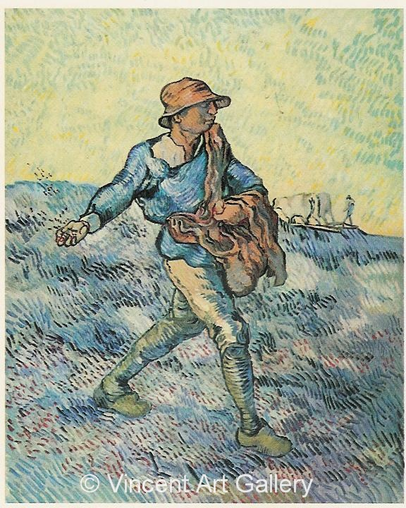 JH1837, The Sower, (after Millet)