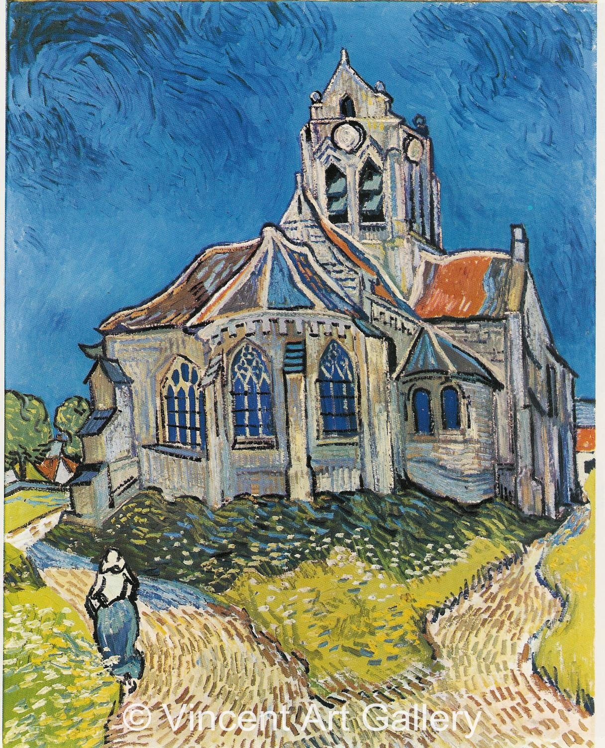 JH2006, The Church at Auvers
