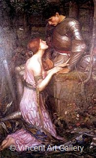 Lamia by J.W.  Waterhouse