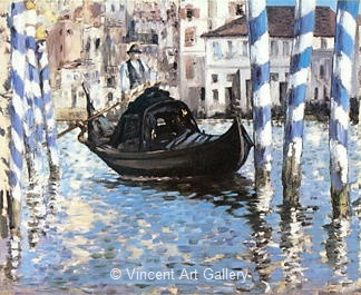 The Grand Canal, Blue Venice by