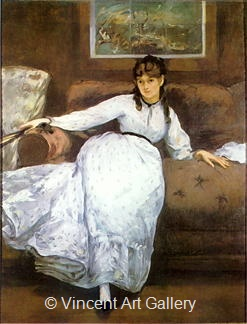 Portrait of Berthe Morisot by