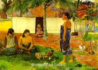 Why are you Angry? (No the Aha Oe Riri?) by Paul  Gauguin