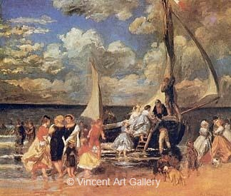 Return of a Boating Party by Pierre-Auguste  Renoir