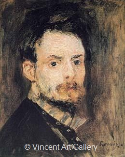 Self-Portrait by Pierre-Auguste  Renoir