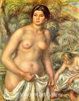 The Two Bathers by Pierre-Auguste  Renoir