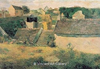 Rural Constructions by Paul  Gauguin