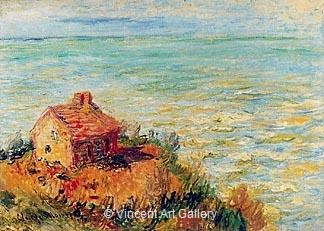 The Custom's House, Afternoon Effect by Claude  Monet