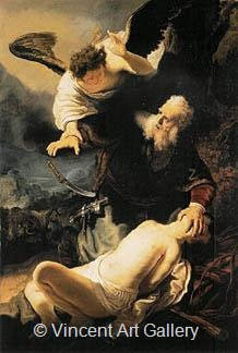 The Sacrifice of Isaac by Rembrandt van Rijn